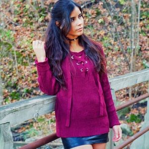 Sweaters - Mulberry sweater